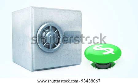 3D illustration of a simple objects for use in presentations, manuals, design, etc.