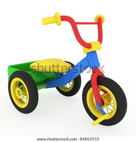 3D Illustration of a Trike