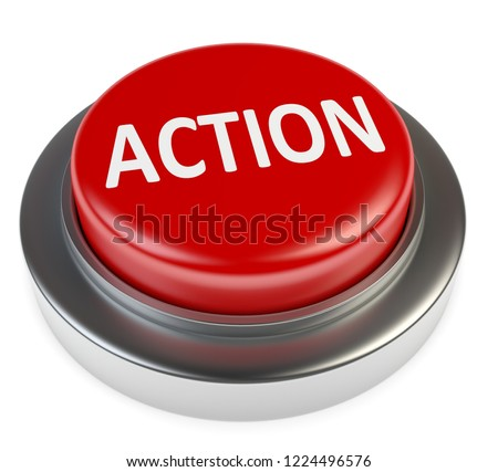 3D illustration of action button
