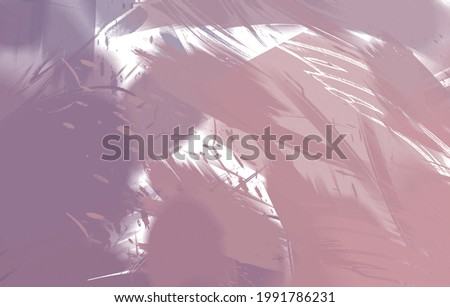 2D illustration of colorful brush strokes. Decorative texture painting. Vibrant paint pattern backdrop. Chaotic brushstrokes painting.