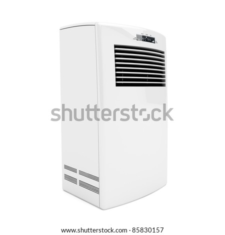 3d image of portable air conditioner