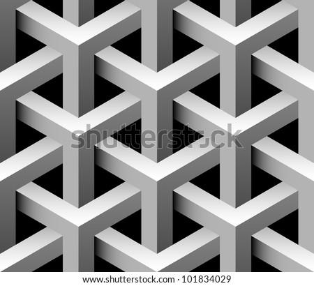 3d industrial seamless pattern raster