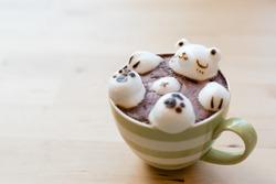 3D Latte Art (Soft Focus)