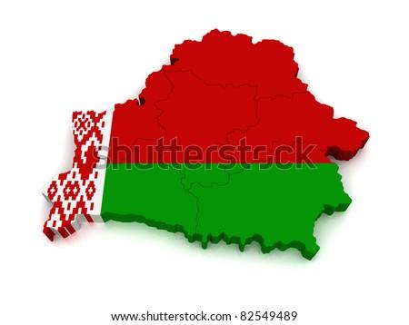 3D Map of Belarus