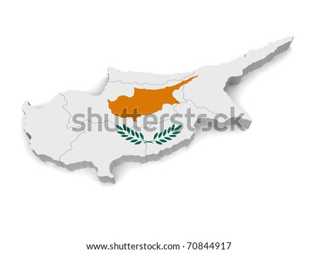 3d Map Of Cyprus