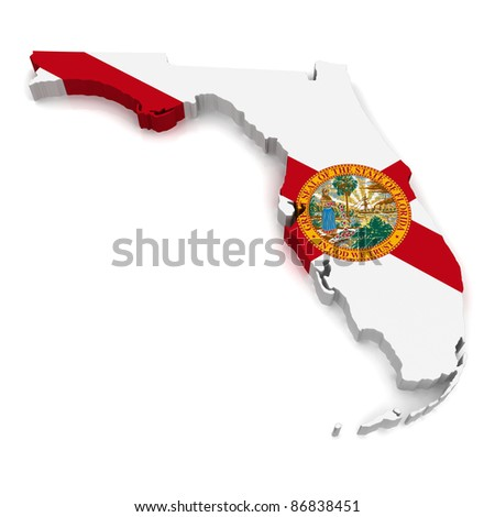 3D Map of Florida