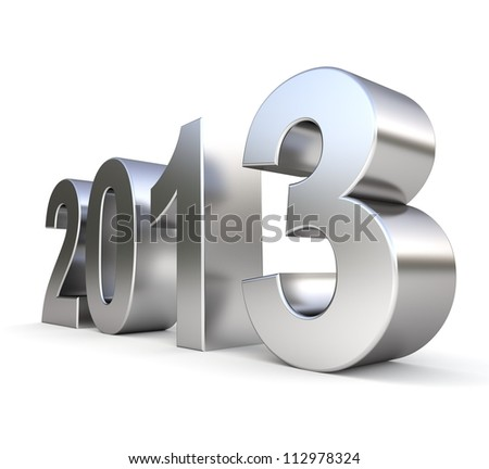 3d metal new year 2013