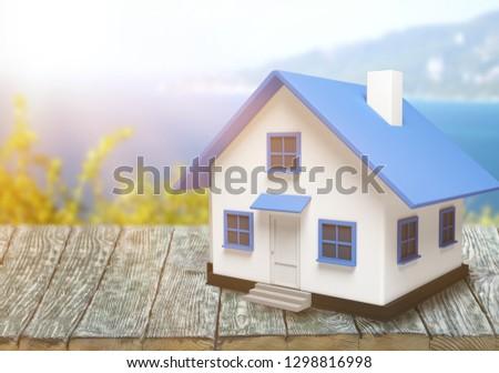 3d Mini House #1298816998