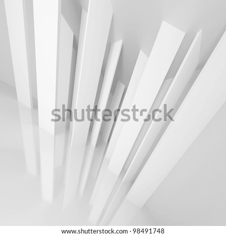 3d Modern Architecture Background