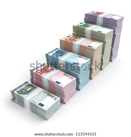 3d money graph - euro version