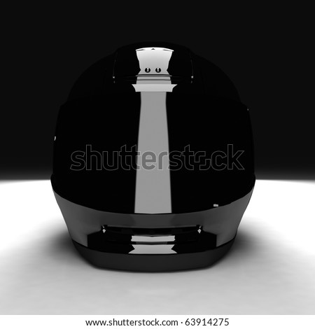 3D Motorbike Helmet
