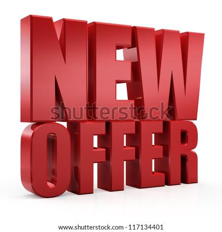 3D new offer
