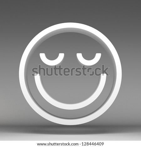 3d of characters emoticons