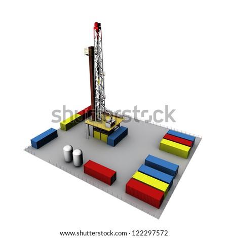 3D Oil Drill Environment