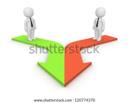 stock-photo--d-people-standing-on-merging-arrows-d-rendering-120774370.jpg
