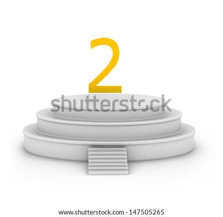3d podium
