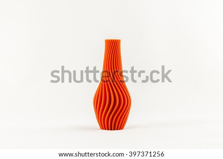 3D printed object vase
