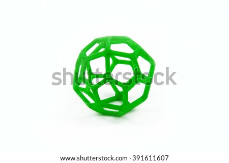 3D Printed Sphere Shaped Object
