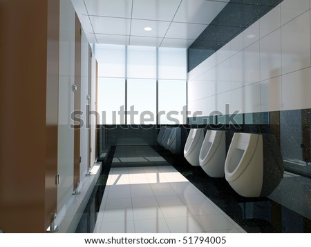 Public Bathroom Designs on Stock Photo  D Public Bathroom 51794005 Jpg