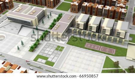 3d public buildings