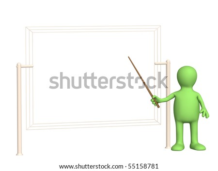 3d puppet with pick