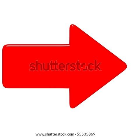 3d Red Arrow Sto...D Arrow Logo