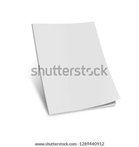3d render blank isolated