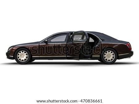 3D render image representing a limo car / Limo Car