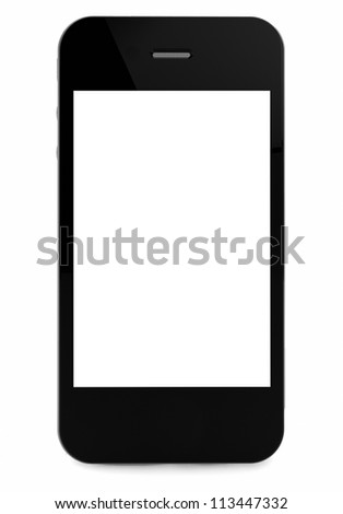 3d render of an smart phone