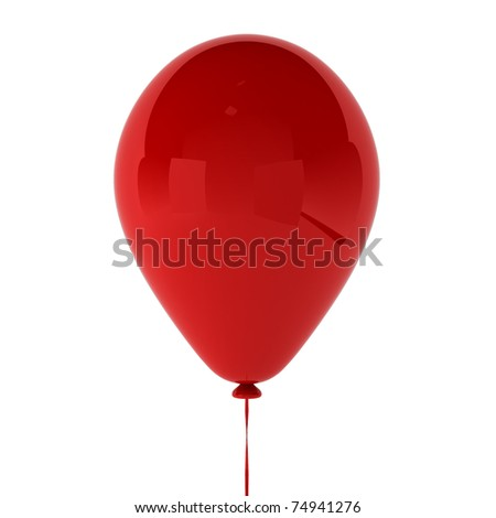 3d render of baloon