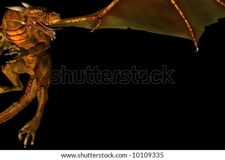 stock-photo--d-render-of-flying-dragon-usable-as-a-frame-for-fantasy-related-text-10109335.jpg