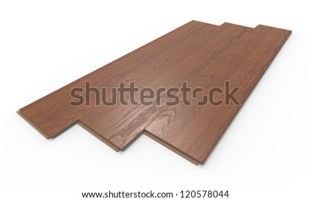 3d render of  laminate on a white background