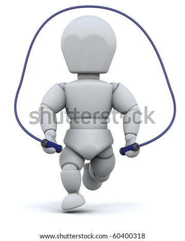 jump rope clip art. skipping with jump rope