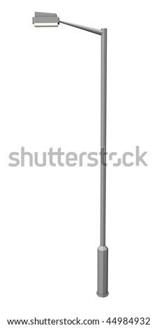 3d render of street lamp