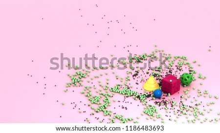 Stock Photo 3d Rendered Geometric Shapes, 4k Quality, 3d Abstract Background