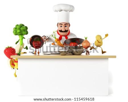 Bonitas Imagenes De Cocineros Para Portada