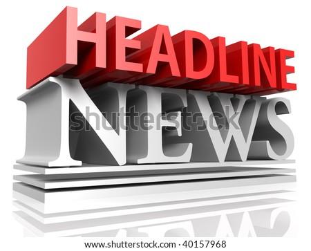 of HEADLINE NEWS letters
