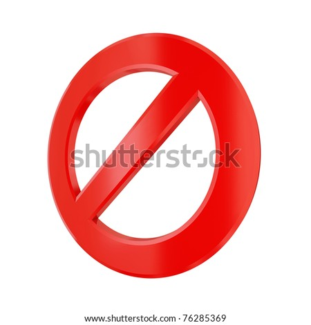 3d rendered stop sign isolated on white. 3d rendered. - stock photo