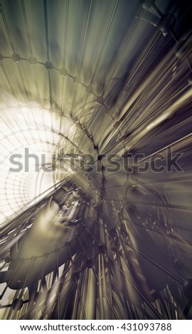 3D rendering, abstract background design #431093788