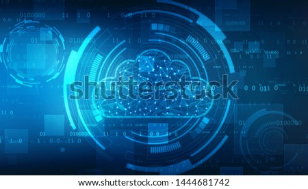 2d rendering Cloud computing, Cloud Computing Concept, Cloud Networking Background, Cloud computing and network security technology concept