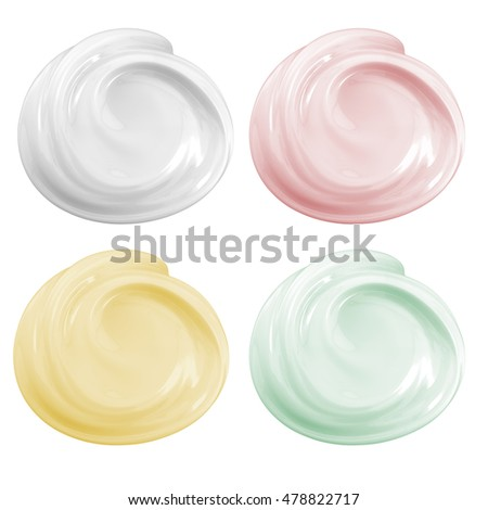 Shutterstock 3d rendering cosmetic cream isolated on white