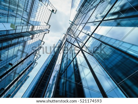 3d rendering highrise office building