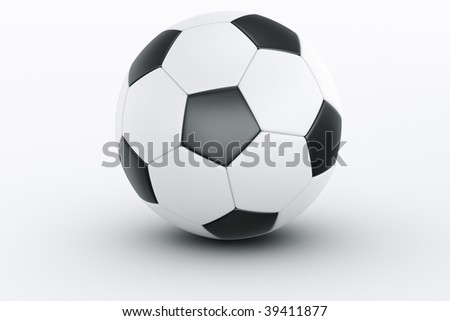 3d rendering of a football #39411877