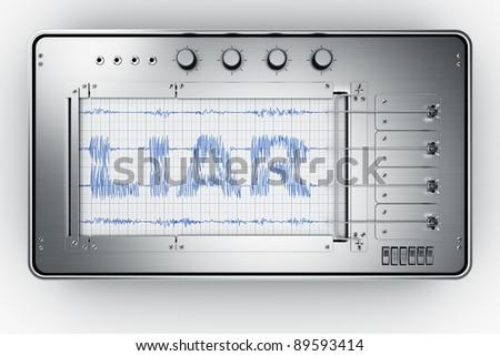 3d rendering of a lie detector