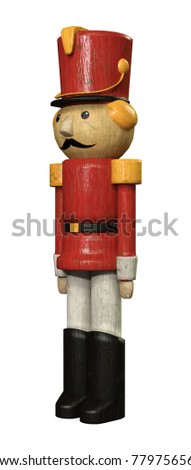 3d rendering of a toy soldier...