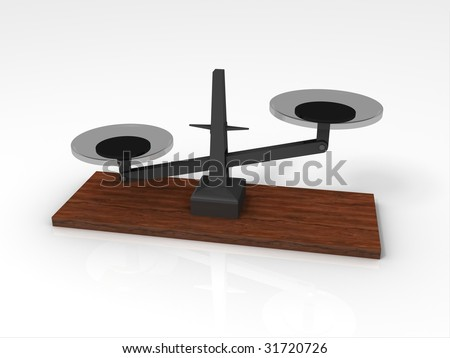 3D Rendering of Weighing Scale