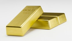 3D rendering stack Gold Bars, weight 1000 grams.Wealth concept for your business success and finance.Billionaire commercial.