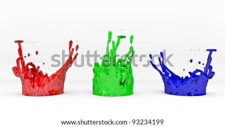 3D RGB concept