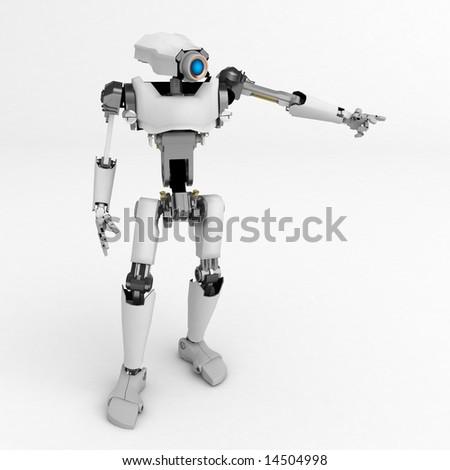 3d robotic figure