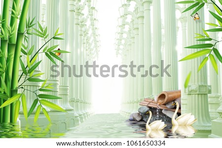 3d roman column background wallpaper for walls.